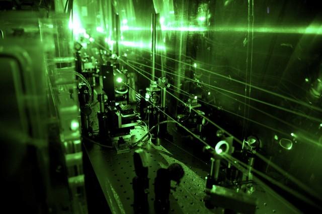 Proton-laser