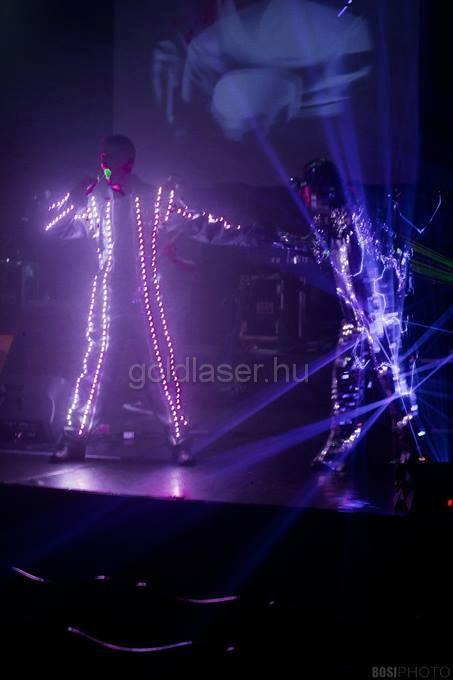 ledruha és tükörruha - laser dancer
