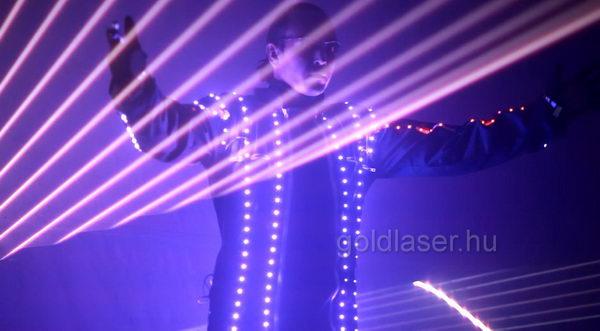 laser show led suit